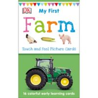 Penguin Random House My 1st Touch & Feel Farm Picture Cards