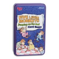 University Games Five Little Monkeys Jumping On The Bed Card Game