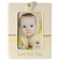 "Precious Moments® ""Love You Tons"" Elephant 4-Inch x 6-Inch Picture Frame"