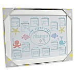 "Concepts in Time ""My First Year"" 13-Photo Underwater Picture Frame"