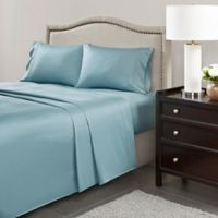 Madison Park 600-Thread-Count Cotton Queen Sheet Set in Blue