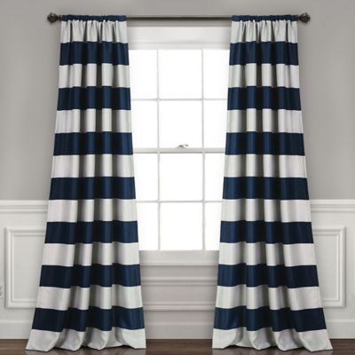 navy dark geometric co tag amazon urbanfarm blue grommet treatments curtains and panels drapes white window cozy