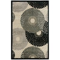 Nourison Gil Sunburst 2-Foot 3-Inch x 3-Foot 9-Inch Accent Rug in Parchment