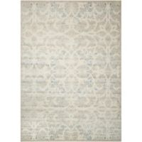 Nourison Gil Old World 7-Foot 9-Inch x 10-Foot 10-Inch Area Rug in Beige/Sand