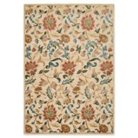 Nourison Gil Vine 5-Foot 3-Inch x 7-Foot 5-Inch Area Rug in Light Gold