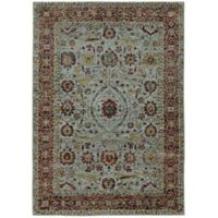 Oriental Weavers Andorra Floral 5'3 x 7'3 Area Rug in Light Blue