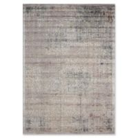Nourison Graphic Illusions Damask 3-Foot 6-Inch x 5-Foot 6-Inch Area Rug in Grey