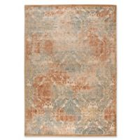 Nourison Graphic Illusions Damask 3-Foot 6-Inch x 5-Foot 6-Inch Area Rug in Light Gold