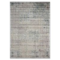 Nourison Graphic Illusions Damask 5-Foot 3-Inch x 7-Foot 5-Inch Area Rug in Grey
