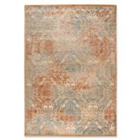 Nourison Graphic Illusions Damask 7-Foot 9-Inch x 10-Foot 10-Inch Area Rug in Light Gold