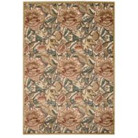 Nourison Gil 3-Foot 6-Inch x 5-Foot 6-Inch Area Rug in Light Gold