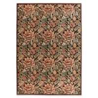 Nourison Gil 5-Foot 3-Inch x 7-Foot 5-Inch Area Rug in Brown