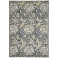 Nourison Gil 7-Foot 9-Inch x 10-Foot 10-Inch Area Rug in Grey