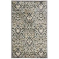 Nourison Gil 2-Foot 3-Inch x 3-Foot 9-Inch Accent Rug in Grey