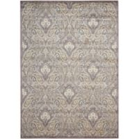 Nourison Gil 3-Foot 6-Inch x 5-Foot 6-Inch Area Rug in Grey