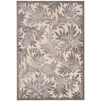 Nourison Graphic Illusions 2-Foot 3-Inch x 3-Foot 9-Inch Accent Rug in Ivory