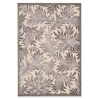 Nourison Graphic Illusions 5-Foot 3-Inch x 7-Foot 5-Inch Area Rug in Ivory