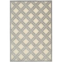 Nourison Graphic Illusions 3-Foot 6-Inch x 5-Foot 6-Inch Area Rug in Ivory