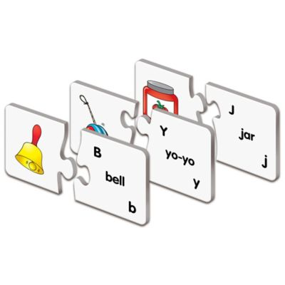 The Learning Journey Match It! ABCs Puzzle Cards