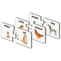 The Learning Journey Match It!® Animal Families Puzzle Cards