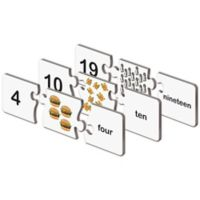 The Learning Journey Match It!® Numbers Puzzle Cards