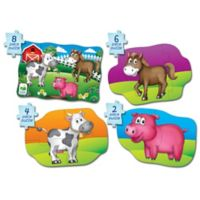 The Learning Journey My First Puzzle Set 4-In-A-Box Farm Puzzles