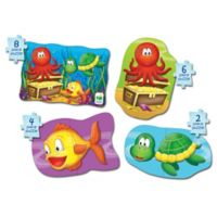 The Learning Journey My First Puzzle Set 4-In-A-Box Ocean Puzzles