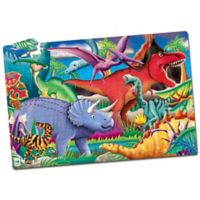 The Learning Journey Puzzle Doubles! Glow in the Dark Dinosaur Puzzle