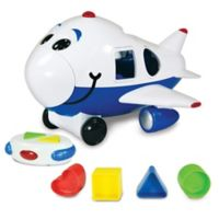 The Learning Journey Remote Control Jumbo the Jet Plane Shape Sorter
