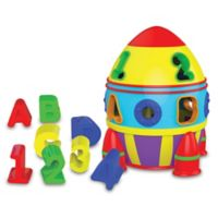 The Learning Journey Rocket Shape Sorter