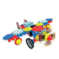 The Learning Journey Techno Gears Aero Trax Plane 80-Piece Construction Set