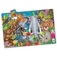 The Learning Journey Animals of the World Jumbo Floor Puzzle