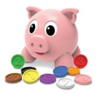 The Learning Journey Learn with Me Numbers and Colors Pig E Bank