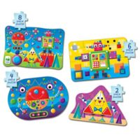 The Learning Journey My First Puzzle Set 4-In-A-Box Shapes Puzzles