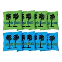 Victory Tailgate Beach Bum Regulation Corn-Filled Cornhole Bags (Set of 8)