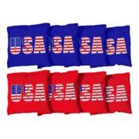 Victory Tailgate USA Regulation Corn-Filled Cornhole Bags (Set of 8)
