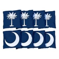 Victory Tailgate South Carolina Flag Regulation Corn-Filled Cornhole Bags (Set of 8)