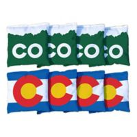 Victory Tailgate Colorado Regulation Corn-Filled Cornhole Bags (Set of 8)