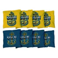 Victory Tailgate Navy Chief Anchor Regulation Corn-Filled Cornhole Bags (Set of 8)