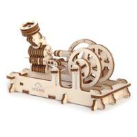 Ugears Steam Engine 3D Mechanical Wooden Model