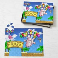 Floating Zoo 252-Piece Jigsaw Puzzle