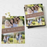 Family Photo Collage 252-Piece Jigsaw Puzzle