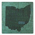 Thirstystone® Dolomite Ohio State Words Single Coaster