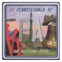 Thirstystone® Dolomite Pennsylvania: The Keystone State Single Coaster