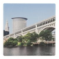 Thirstystone® Dolomite Detroit Superior Single Square Coaster