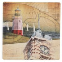 Thirstystone® West Side Cleveland II Single Square Coaster