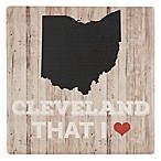 Thirstystone® Dolomite Cleveland That I Love Single Coaster