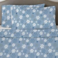 Pointehaven 170 GSM California King Sheet Set in Snow