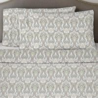 Pointehaven 170 GSM Twin XL Sheet Set in Paisley