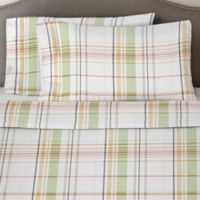 Pointehaven 170 GSM Queen Sheet Set in Green